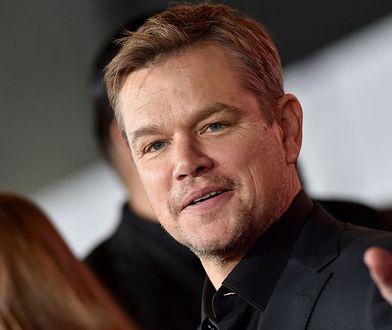 Matt Damon ogłosił, że jego córka miała koronawirusa