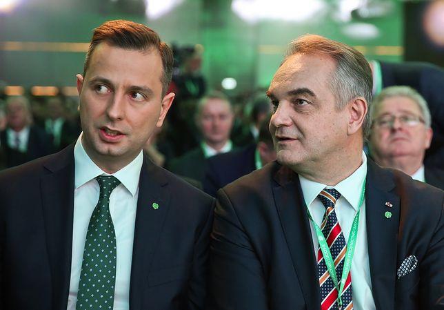 Władysław Kosiniak-Kamysz i Waldemar Pawlak nie byli zadowoleni ze swoich kadr politycznych