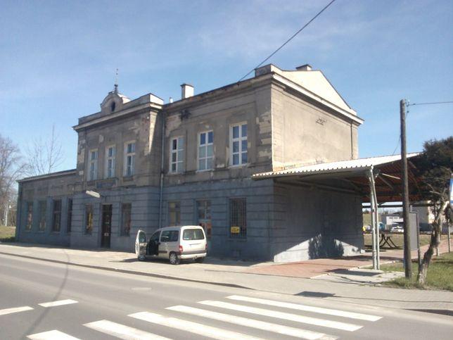 Dworzec w Wieliczce przed modernizacją