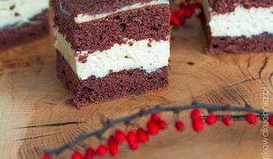 Ciasto chałwowe z czekoladą. Słodkości na specjalną okazję