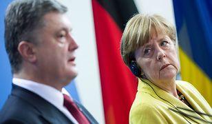 Merkel rozmawiała z Poroszenką o szczycie w sprawie Ukrainy
