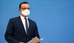 Koronawirus. Minister zdrowia Niemiec Jens Spahn jest zakażony