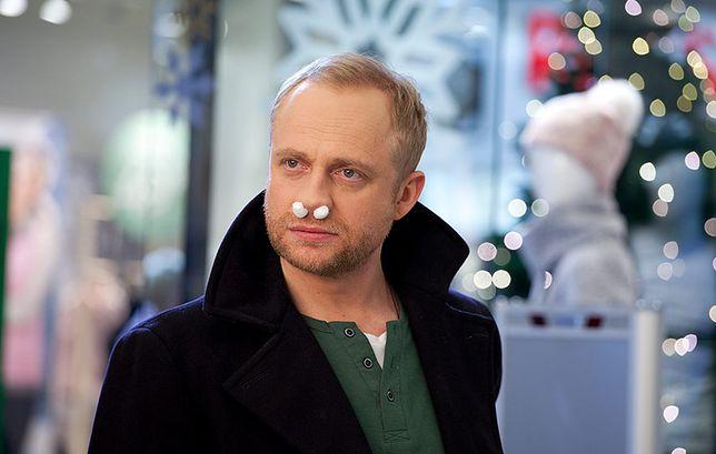 """Kadr z filmu """"Listy do M. 3"""".  Na zdj. Piotr Adamczyk"""