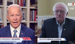 Prawybory prezydenckie w USA 2020 u Demokratów. Bernie Sanders poparł Joe Bidena