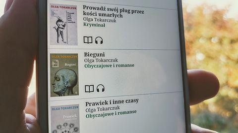 Olga Tokarczuk z literackim Noblem! Jej książki przeczytasz w tych aplikacjach