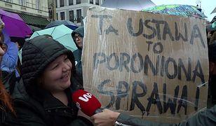Strajk Kobiet na Placu Zamkowym 3.10.16