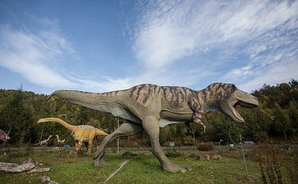 W USA otwarto polski park dinozaurów