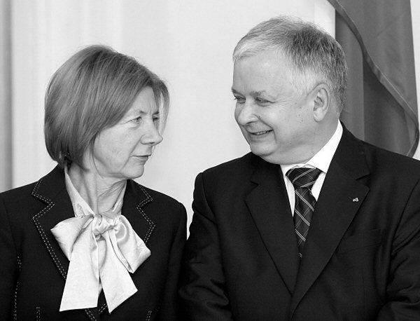 Maria i Lech Kaczyński