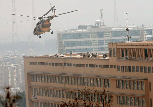 Afganistan: atak na szpital wojskowy w Kabulu
