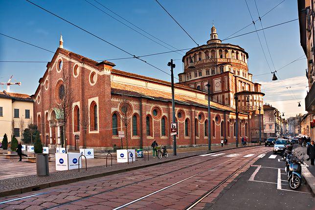 Ostatnia Wieczerza, Santa Maria delle Grazie, Mediolan, Włochy