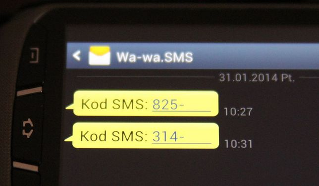 SMS o utrudnieniach w ruchu