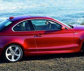 Maluch z bagażnikiem - BMW 1 Coupe