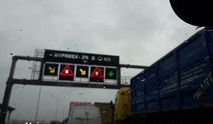 Autostrada A4. Seria wypadków. Spore korki pod Wrocławiem