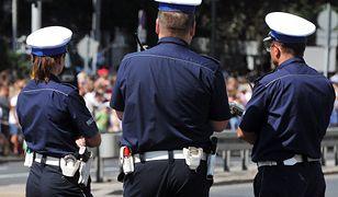 Katowice. Policja zabezpieczała defiladę (zdjęcie ilustracyjne)