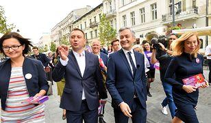 Tomasz Trela, Robert Biedroń, Hanna Gill-Piątek