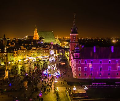 Warszawska iluminacja wystartuje już 7 grudnia