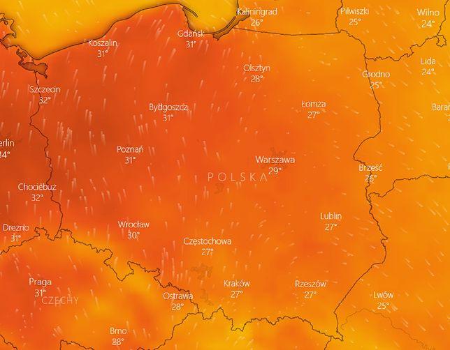 Pogoda na weekend. IMGW ostrzega przed upałami i burzami