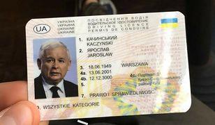 """Prawo jazdy prezesa można dostać na Ukrainie za 3 zł. W Polsce można podobne """"wyrobić"""" za 700 zł"""