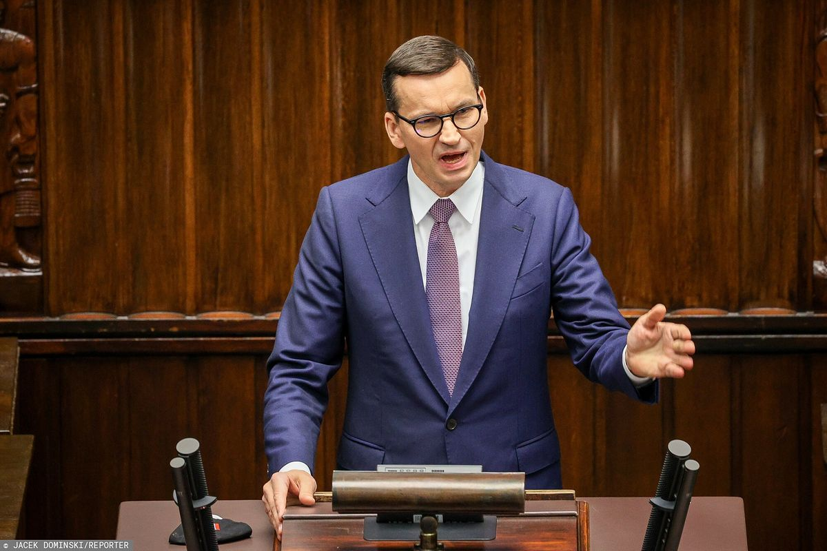 Awantura w Sejmie. Mocne słowa Mateusza Morawieckiego. Opozycja oburzona