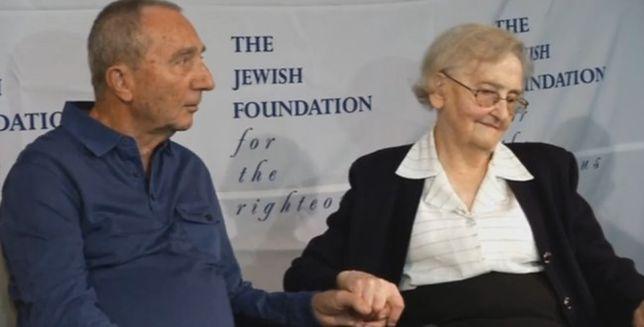 Rodzina pani Krystyny ocaliła go w czasie wojny. Niezwykłe spotkanie