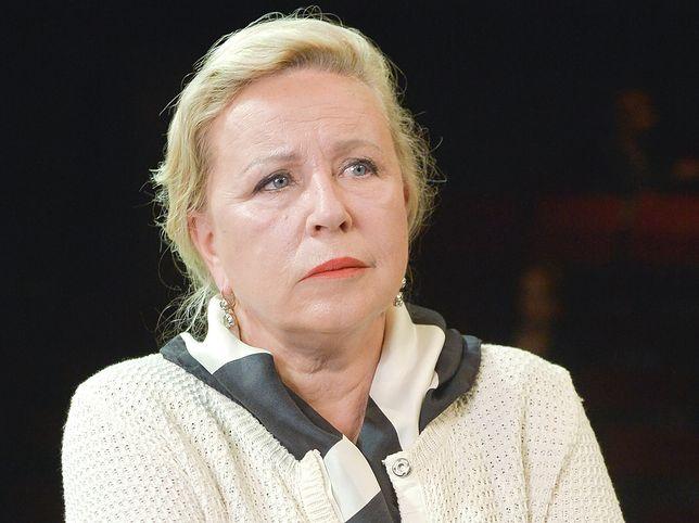 Krystyna Janda zaszczepiła się na COVID-19.