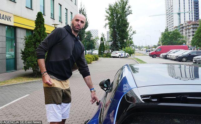 Marcin Gortat w Porsche Panamerze / KAMIL KACPERCZYK/SE/EAST NEWS