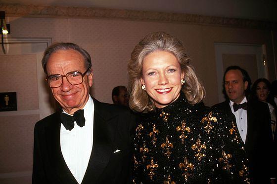 Rupert Murdoch, Patricia Booker