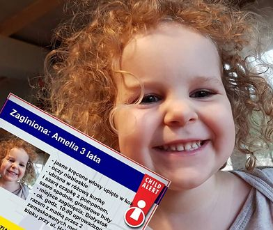 Child Alert został aktywowany po porwaniu Amelki