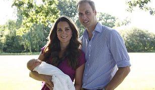 Oficjalny portret Williama i Kate z dzieckiem