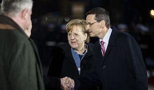 Kanclerz Angela Merkel i premier Mateusz Morawiecki. Warszawa, marzec 2018 roku.