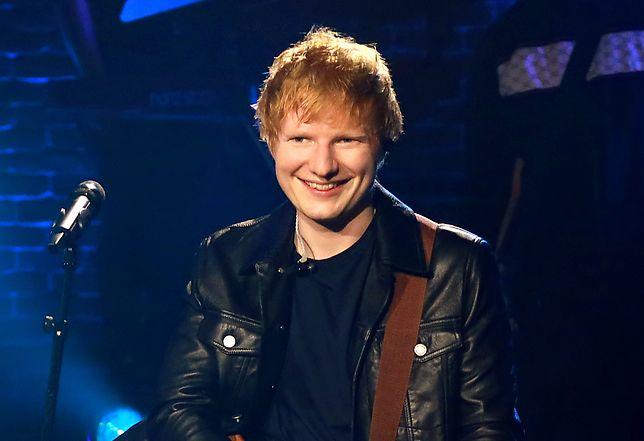 Ed Sheeran miał niespodziewaną kontrolę w czasie wywiadu
