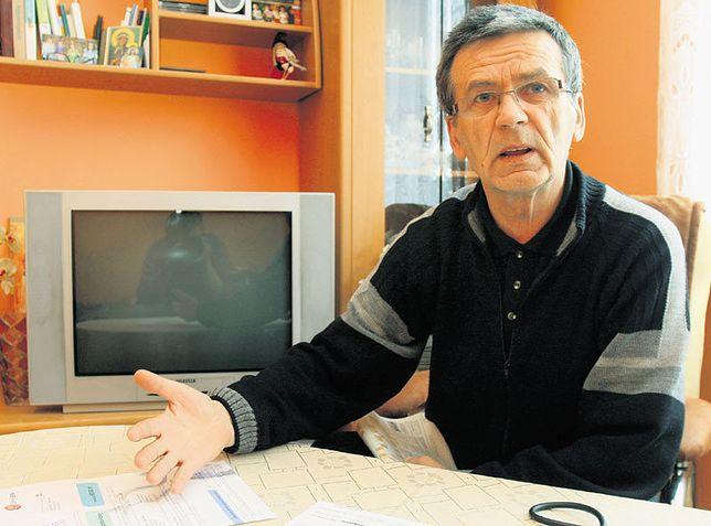 Stanisław Parafiniuk nie jest w stanie zrozumieć zasad, jakimi kierują się bankowcy