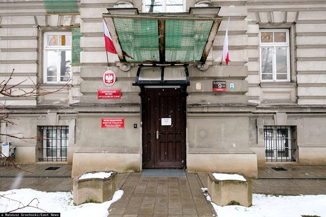 Warszawa. Siedziba Centralnego Biura Antykorupcyjnego w Alejach Ujazdowskich 9 [zdj. archiwalne]