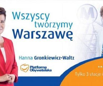 """""""Wszyscy tworzymy Warszawę"""" - hasło wyborcze Prezydent Warszawy"""