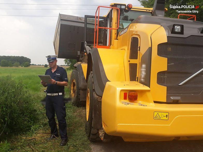 Makabra na Śląsku. Kierowca nie zauważył 62-latka leżącego w trawie