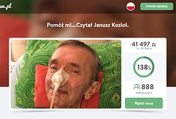 Znany lektor Janusz Kozioł potrzebuje pomocy. Tomasz Knapik: jest bardzo źle