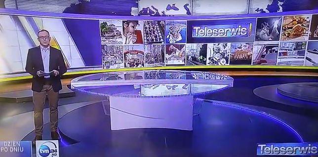 """""""Lecę wam wpier*****"""". Ogromna wpadka na żywo w TVN24"""