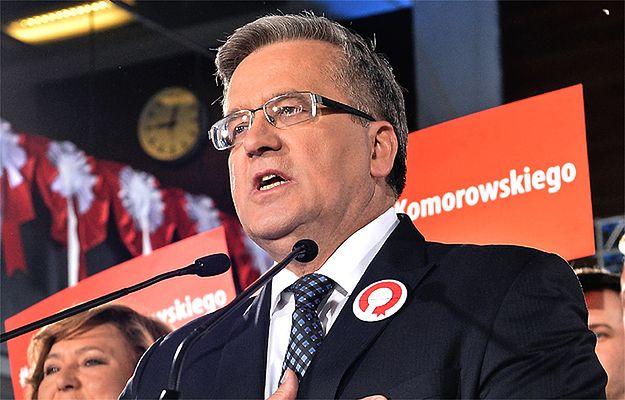 Bronisław Komorowski: referendum sierotą po przegranych przeze mnie wyborach