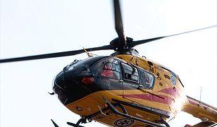 Mimo że na miejsce wezwano śmigłowiec Lotniczego Pogotowia Ratunkowego, mężczyzny nie udało się uratować
