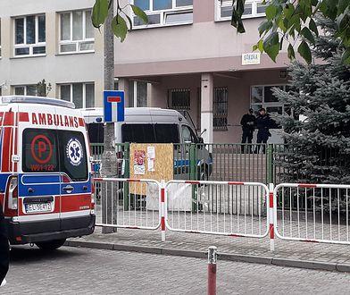 Do tragedii doszło w szkole podstawowej im. Króla Maciusia I w warszawskim Wawrze