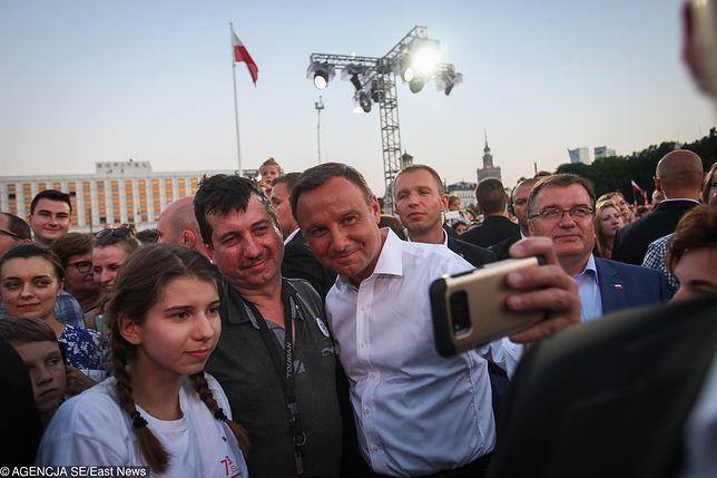 Po dwóch latach prezydentury. Paweł Lisicki: Andrzej Duda szuka sobie miejsca