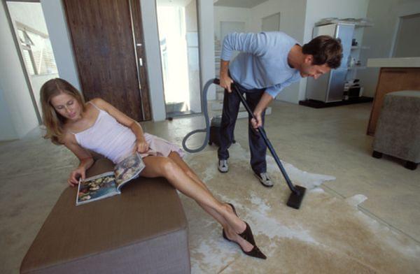 Naucz ją sprzątać po męsku