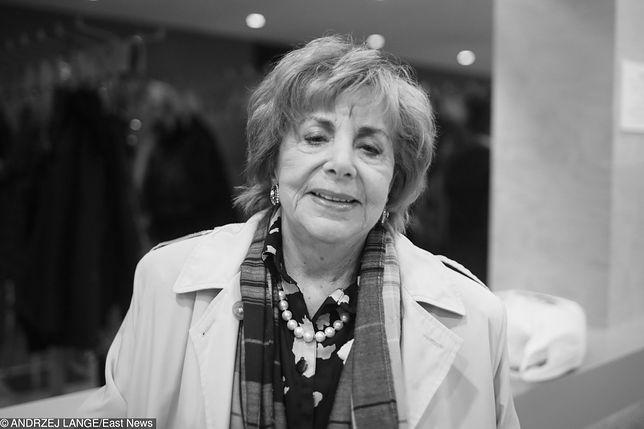 Zofia Czerwińska nie żyje. Aktorka zmarła w wieku 85 lat