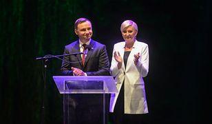 """Prezydent wraz z żoną przemawiają na zakończenia akcji Narodowe Czytanie """"Quo vadis"""""""