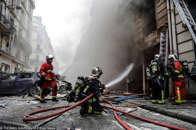 Eksplozja w piekarni w Paryżu