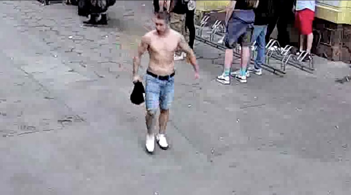 Wrocław. Brutalne pobicie w pasażu Niepolda. Policja ma pierwszego podejrzanego