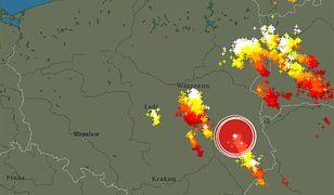 Gdzie jest burza? Rano grzmiało m.in. nad Warszawą, Łodzią i Białymstokiem