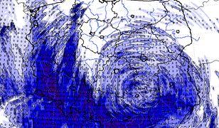 Powódź i podtopienia na południu Polski. Tak wyglądał deszczowy niż Axel - na mapie suma opadów z ostatnich kilku dni.