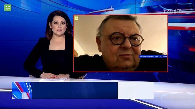 """""""Wiadomości"""" TVP1 """"wzięły się"""" za Wojciecha Manna i innych krytyków PiS"""