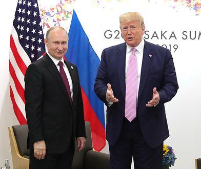 """Wyciekły dokumenty Kremla. Tak Putin miał pomóc """"niestabilnemu psychicznie"""" Trumpowi"""
